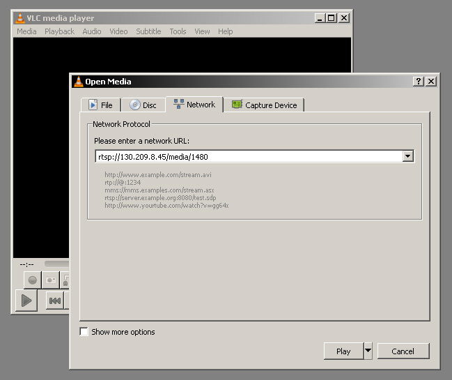 TFTS Archive :: View streaming video in VLC Media Player